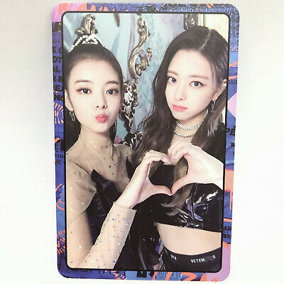 Itzy Yuna Lia Official 2nd Mini Album IT'z ME Photocard Photo jyp Kpop Idol