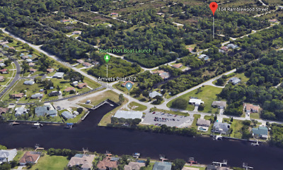 Beautiful Port Charlotte Lot - Across From Saltwater Canal - Walk 2 Fishing Dock