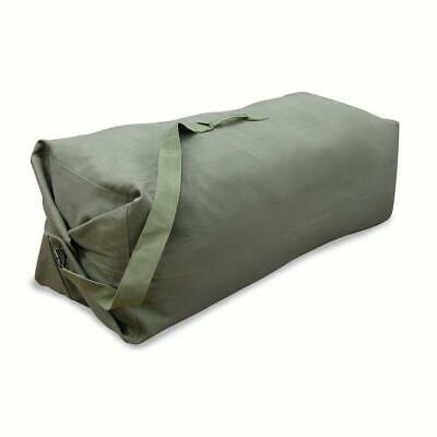 Military Duffel Canvas Bag With Strap For Travel Camping Storage Classic Design