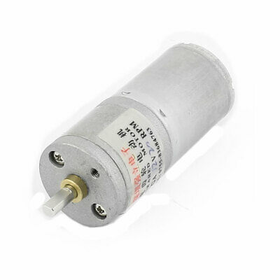DC 12V 20RPM 4x9mm D-Shape Shaft Speed Reducer Electric Geared Motor