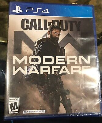New Sealed Call Of Duty Modern Warfare For Sony PS4