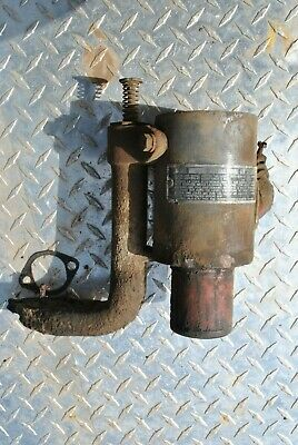 IHC International LB 1 1/2 - 2 1/2 HP Hit Miss Gas Engine Air Cleaner Assembly