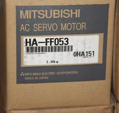 Mitsubishi SERVO MOTOR HA-FF053 HAFF053 new 2-5 days delivery