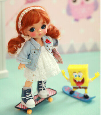 1/8 BJD MSD Yellow Berry Cute Resin Doll Ball-Jointed Doll Free Face Up