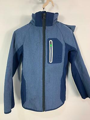 Boys H&M Sport Blue Mix Casual Light Weight Summer Coat Jacket Kid Age 9/10 Yrs
