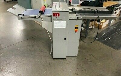 Morgana DigiFold Pro High Speed Automatic Creaser & Folder, 2010 Video