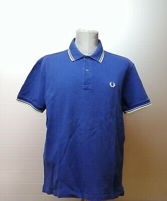 Fred Perry | polo maglia uomo Tg. 44 | men's slim fit t-shirt shirt size 44