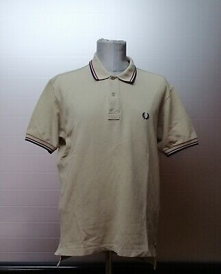 Fred Perry | polo maglia uomo Tg. 40 | men's slim fit t-shirt shirt size 40