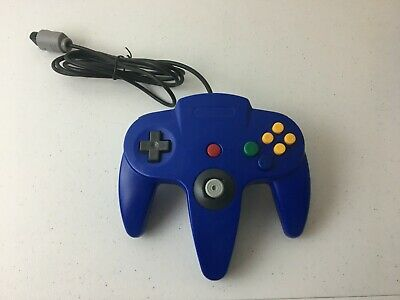 LOT 10 N64 Blue Controller Gamepad Joystick for Nintendo 64 Video Game Console