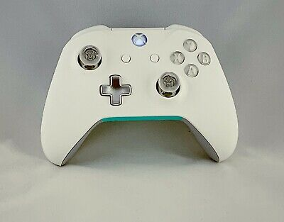 "Custom Microsoft Xbox One Controller ""Comfort Series White"" (Refurb Model 1708)"
