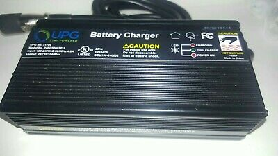 UPG Battery Charger Unit for Mobility Scooter 24V DC 5A Max