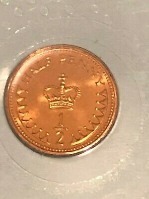 1983 1/2p The Royal Mint Half Pence Coin - Uncirculated UK BUNC