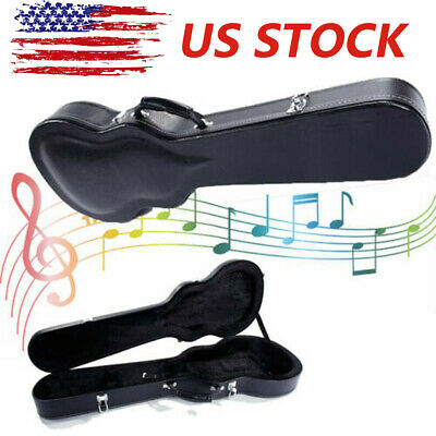 US High Grade Electric Guitar Hard Case for Strat Les Paul Case Body Style Box