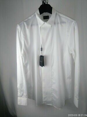 Men's large GIORGIO ARMANI Black Label dress shirt NEW WITH TAGS Made in Italy