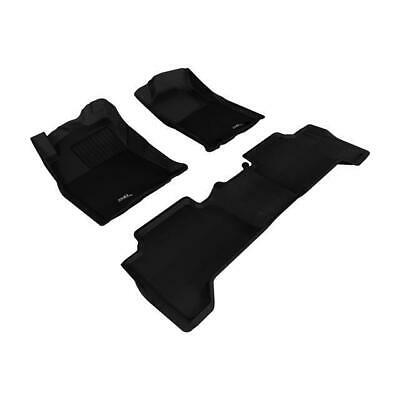 Kagu Rubber Gray 3D MAXpider Second Row Custom Fit All-Weather Floor Mat for Select Toyota Tacoma Models L1TY05721501