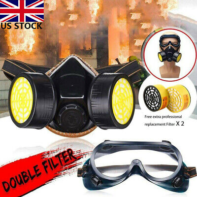 Anti Gas MSK Survival Safety Respiratory Emergency Filter Face MSK Protect UK