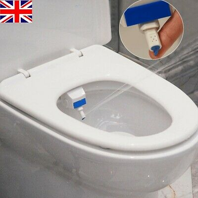 Non Electric Bidet Spray Cold Water Bathroom Toilet Seat Attachment Wash Cleaner 8 69 Picclick Uk