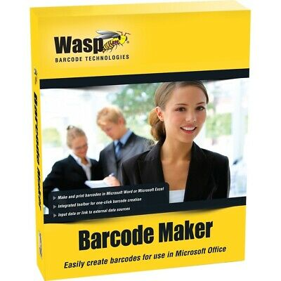 Wasp Fast Start/Silver Partners 633808105167 Barcodemaker Single Pc License