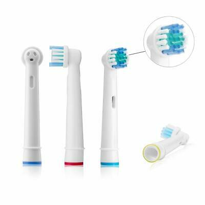 4-12x Tetes Brossettes Rechange Remplacement Brosses Dents Braun Oral B Vitality