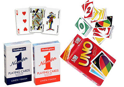 Waddingtons No.1 Classic Poker Playing Cards Indoor Deck Game