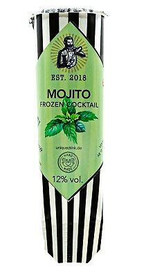 6x MOJITO FROZEN COCKTAIL 12% vol. *Das Original*** ALKOPOPS***Cocktailmixtur!!!