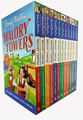 Enid Blyton Malory Towers collection 12 book set - Brand New and Sealed