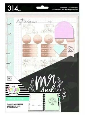 NIP: The Happy Planner Wedding Expansion Accessory Pack Classic Undated by MAMBI