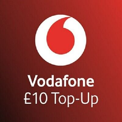 £10 - Vodafone - Mobile phone - Top Up - Vouche