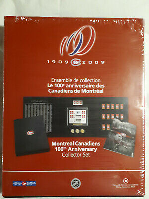 2009 Montreal Canadiens 100th Anniversary Collector Set issued by RCM on SALE