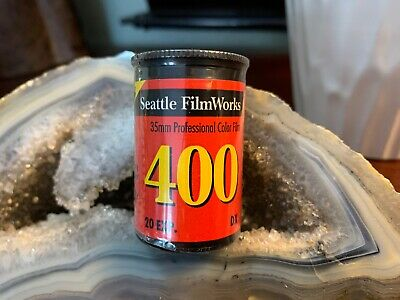 Vintage Roll Seattle Film Works 35mm Color Film 400 ASA Speed Italy Expired NEW