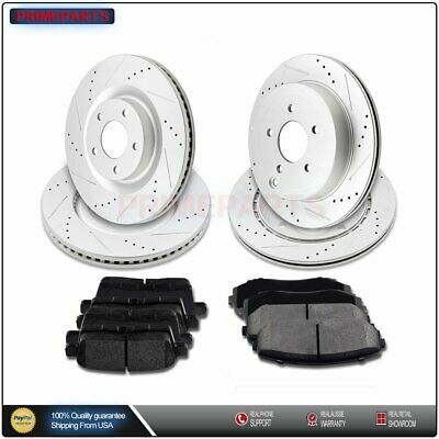 StopTech 127.45069L Sport Drilled//Slotted Brake Rotor 1 Pack Front Left