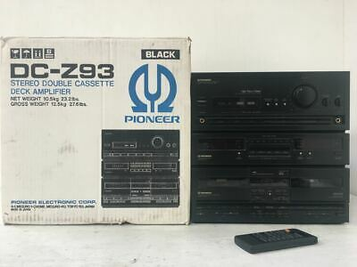Vintage Pioneer DC-Z93 HiFi Stereo System - Amplifier, Tape Deck, Radio, Aux