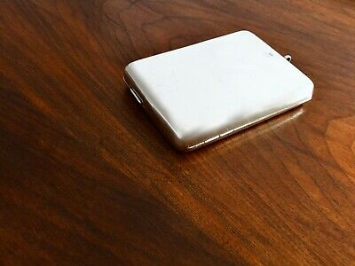~ Colen Hewer Cheshire English Sterling Card Case Wallet Notepad Pencil Mirror