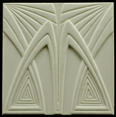 Seltene Jugendstil Fliese, Art Nouveau tile, Boizenburg