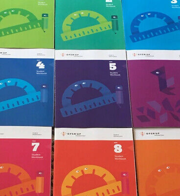 OpenUp Resources MATH Practice Middle School Grades 6th 7th 8th NEW Mixed Lot