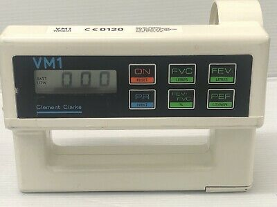 Clement Clarke Vm1 Ventilometer In Carry Case