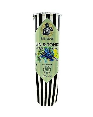 6x GIN & TONIC FROZEN COCKTAIL 12% vol. Das Original*ALKOPOPS*Cocktailmixtur!!!*