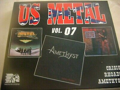 Crisis/Rhoads/Amethyst– Armed To The Teeth/Into The Future /Outside Of Now VOL 7