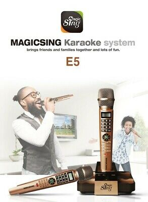 Latest Magic Sing Karaoke Microphone E5