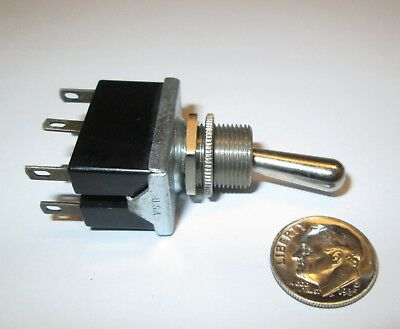 Arrow-Hart  Toggle Switch Dpdt On-On 2-Positions Solder Terms.  Nos  1 Pcs