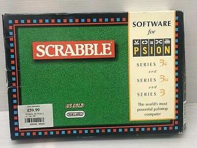 Psion Series 3/3c/3a Software Package: Scrabble BOXED with manuals