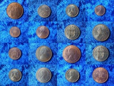 United Kingdom 1960s/70s Uncirculated Coins Choose From Many - Lustrous Examples