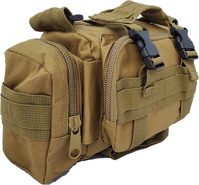 Tactical First Aid Survival EMT Trauma Kit- Coyote Tan Extended Trauma Kit IFAK