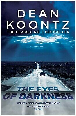 Paperback The Eyes of Darkness By Dean Koontz Paperback Book Brand New Free P+P!