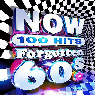 NOW 100 Hits Forgotten 60s New 4 CD Box Set / Free Delivery