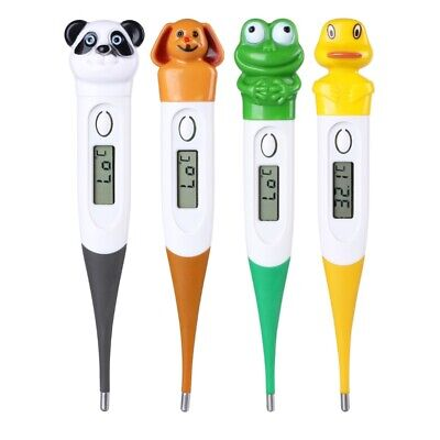 Electronic Digital Oral Temperature Thermometer for Kids Adults Waterproof Cosy