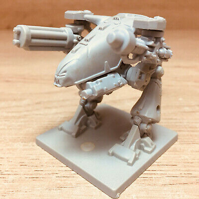 Space Crusade MK VII Chaos Dreadnought + 2 Weapons MB/Games Workshop 1990