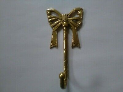Brass Antique Hardware Country French Vintage Bath Robe Coat Hook Towel Hanger