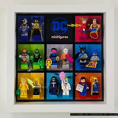 Display Case Frame for Lego DC Comics Series CMF 71026 Superheroes Minifigures