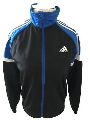 Boys / Girls Adidas Blue Zip Up Track Top / Jacket, Age 11 - 12  AB5204